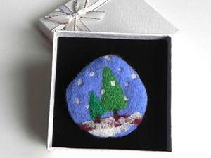 Розыгрыш брошки Падал Снег в магазине Бранзулетки Handmade. Ярмарка Мастеров - ручная работа, handmade.