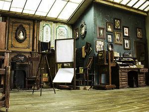 Назад в начало 1900-х: миниатюрная фотостудия от турецкого дизайнера Alamedy Diorama. Ярмарка Мастеров - ручная работа, handmade.