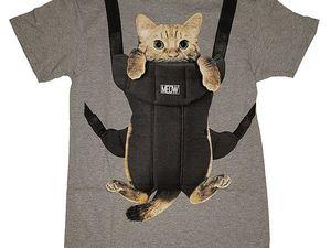 Холодно? Надень кота! Интересные дизайнерские идеи с домашними любимцами. Ярмарка Мастеров - ручная работа, handmade.