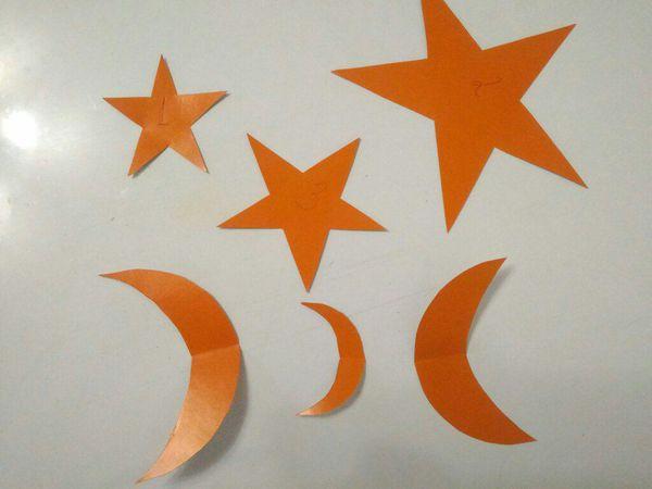 Делаем шаблон звездочки на основе треугольника. Вариант 2   Ярмарка Мастеров - ручная работа, handmade