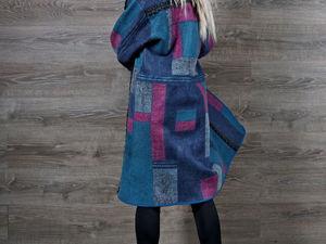 Акция магазина! Валяное пальто за пол цены!. Ярмарка Мастеров - ручная работа, handmade.