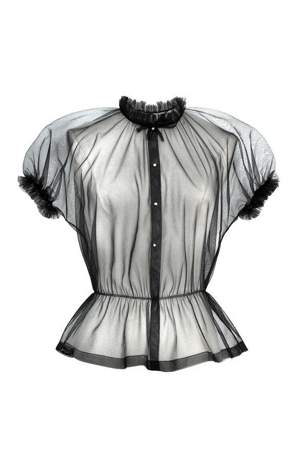 фатин, пышное платье, блузка