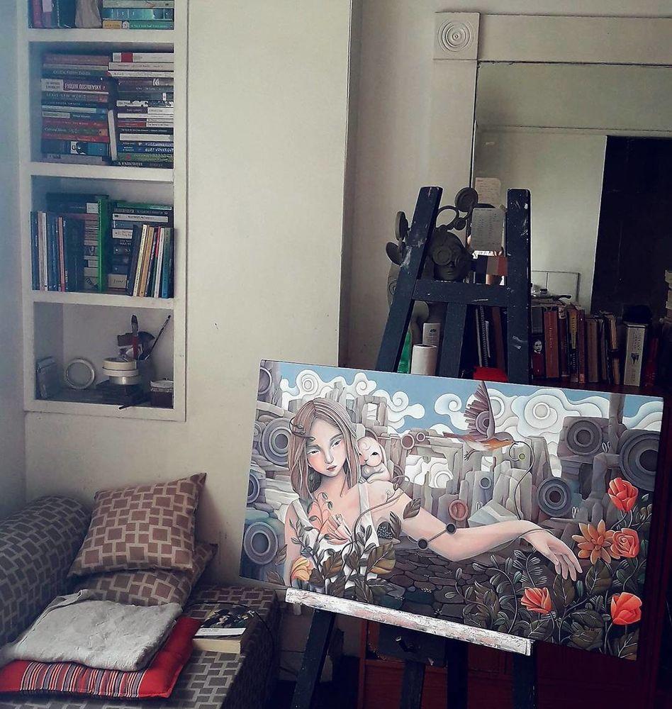 филиппинская художница