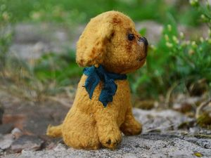 Быстрый аукцион на собачку. Ярмарка Мастеров - ручная работа, handmade.