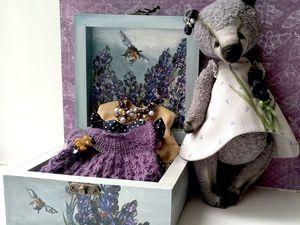 Полин с коллекцией платьев, украшениями и шкатулкой. Ярмарка Мастеров - ручная работа, handmade.