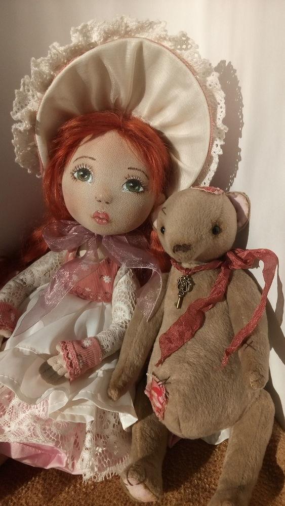 текстильная кукла, кукла