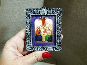 Икона в Подарок!. Ярмарка Мастеров - ручная работа, handmade.