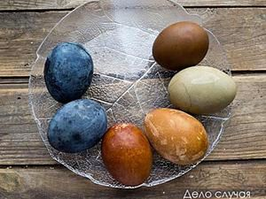 Painting Eggs for Easter with Natural Dyes. Livemaster - handmade