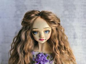 Robin авторская интерьерная подвижная будуарная кукла OOAK. Ярмарка Мастеров - ручная работа, handmade.