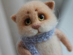 Новый котик в моем магазине!. Ярмарка Мастеров - ручная работа, handmade.
