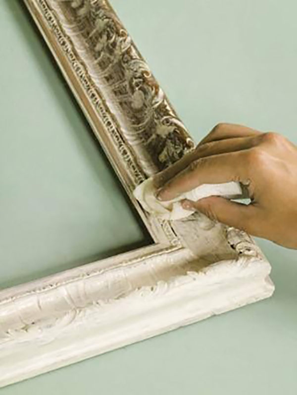 артзаготовка, мастер-класс, старение мебели, декор
