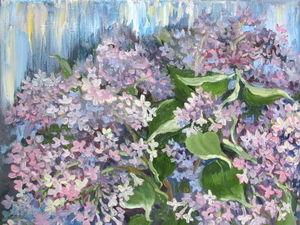 Сирень цветет! | Ярмарка Мастеров - ручная работа, handmade