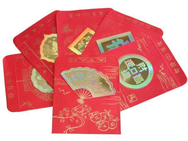 Красный конверт – символ достатка по фен шуй. | Ярмарка Мастеров - ручная работа, handmade