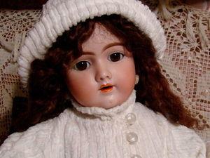Антикварная немецкая кукла Handwerck 69. Ярмарка Мастеров - ручная работа, handmade.