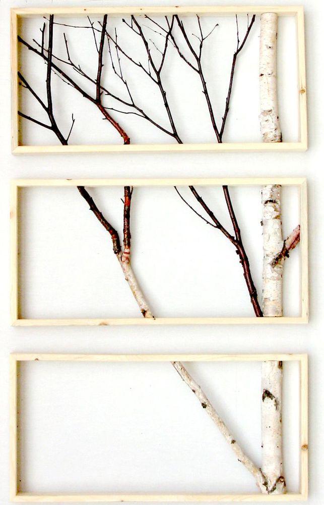 19 простых идей декора из веток - Ярмарка Мастеров - ручная работа, handmade