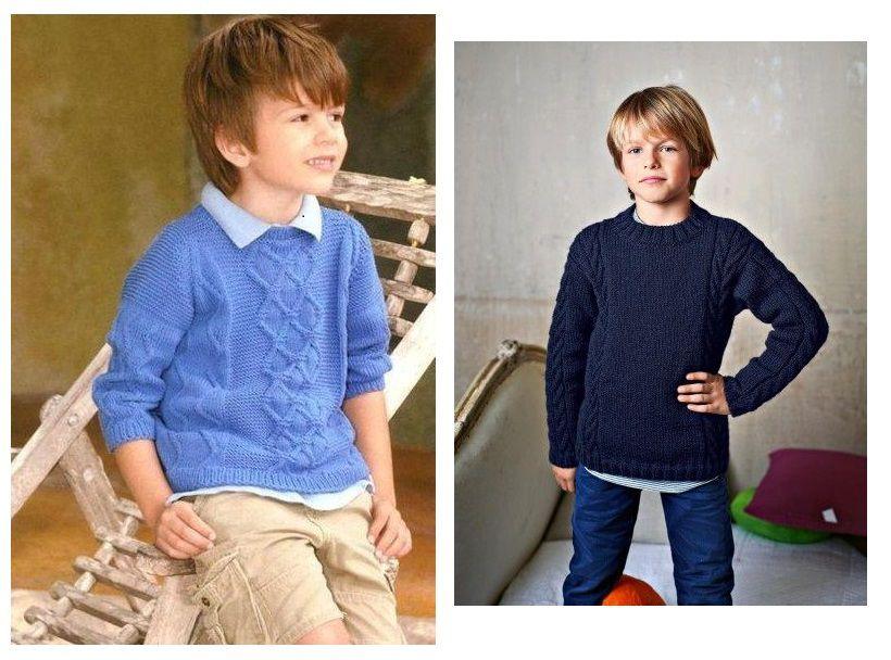 свитера с аранами