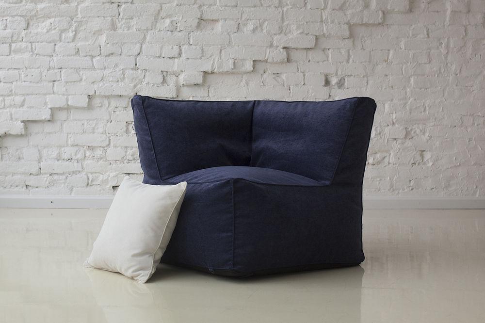 бескаркасная мебель, угловое кресло