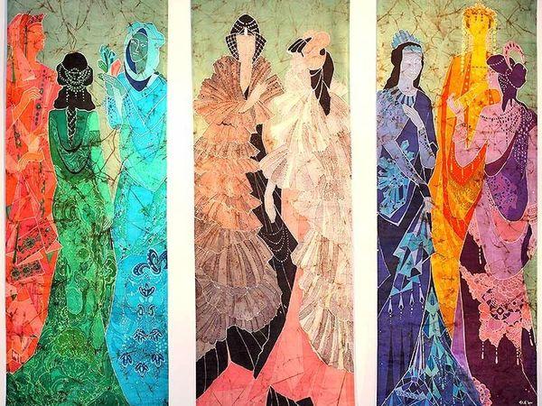 Галерея Батика — Ирина Трофимова   Ярмарка Мастеров - ручная работа, handmade