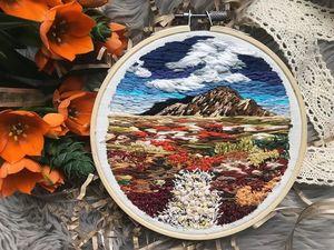 Цветущий мир вышивки от Northwise. Ярмарка Мастеров - ручная работа, handmade.