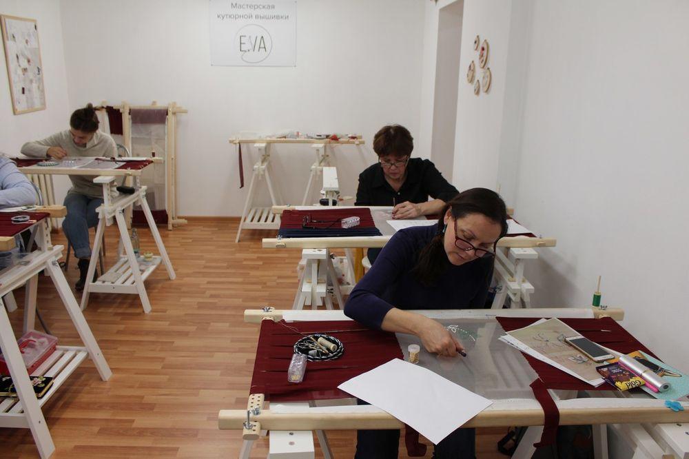 обучение вышивке