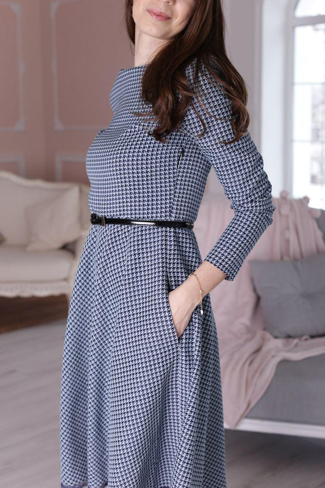 костюмная ткань, классическое платье