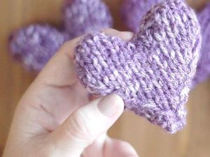 Knitted Gifts for Valentine's Day. Livemaster - handmade