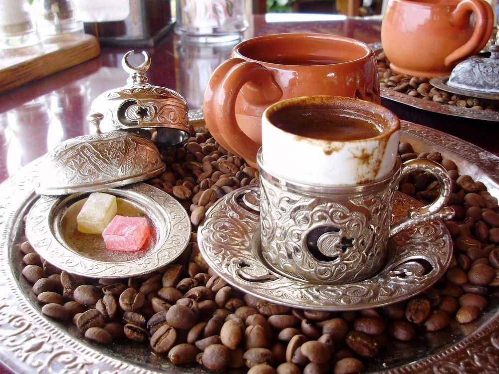 турецкий кофе, пить кофе, какой кофе, рецепты кофе, калорийность кофе