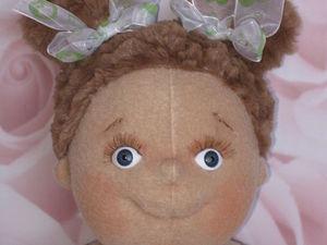 Работаю над мастер-классом по пошиву куколки. Ярмарка Мастеров - ручная работа, handmade.