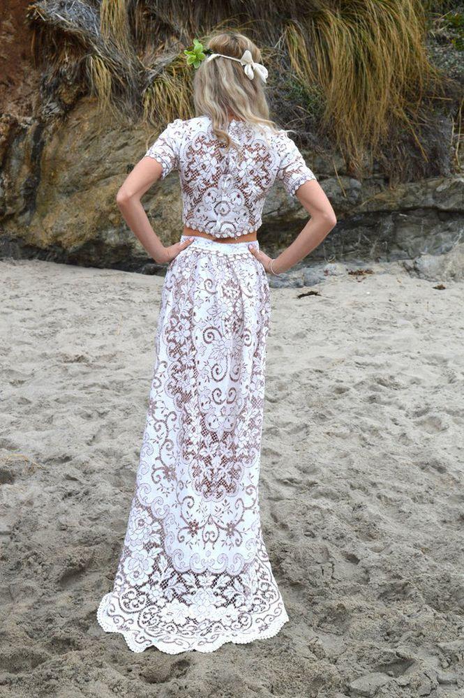 ирландское кружево платье