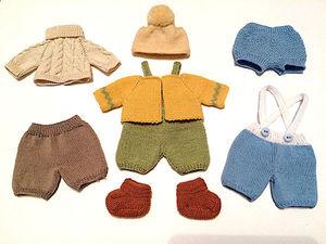 Одежда для миниатюрных кукол. Ярмарка Мастеров - ручная работа, handmade.
