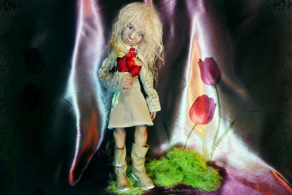 портретная кукла, шарж кукла