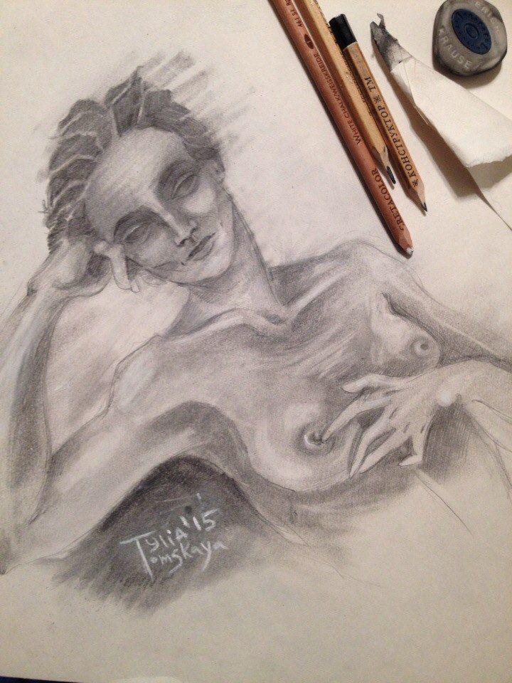 живопись томской, любовь, зарисовки