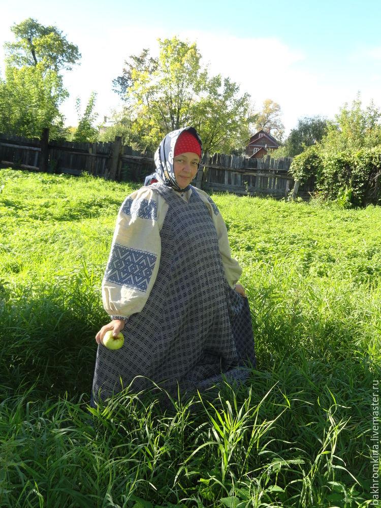 русский костюм, русский стиль, одежда для женщин, сарафан, мастер-класс, народный костюм, народные традиции