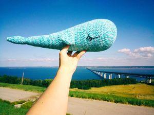 Синий-синий кит. Ярмарка Мастеров - ручная работа, handmade.