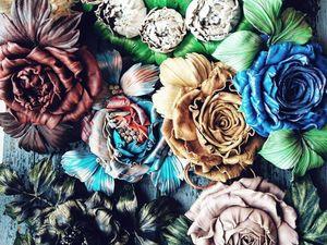 Акция! Розы из кожи!. Ярмарка Мастеров - ручная работа, handmade.