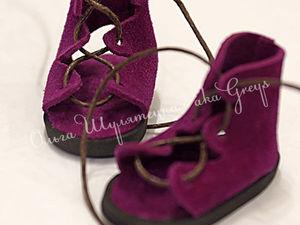 Кукольные сандалии в греческом стиле, которые не нужно шить: мастер-класс | Ярмарка Мастеров - ручная работа, handmade