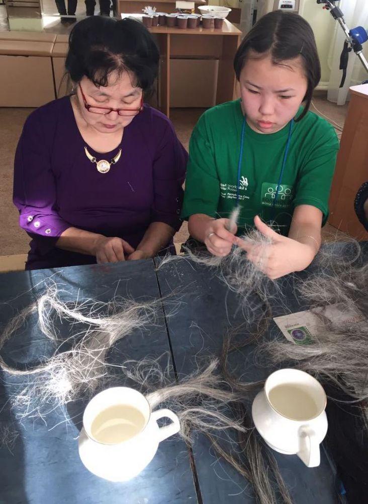 Конский волос — новая возможность для творчества