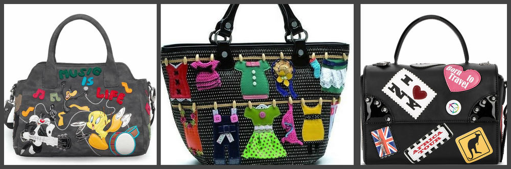 841118ba16c5 Также у бренда есть серия сумок в технике лоскутного шитья
