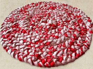 Плетем уютный коврик своими руками: видео мастер-класс. Ярмарка Мастеров - ручная работа, handmade.