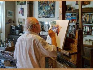 Волшебный мастихин в руках французского художника Christian Jequel. Ярмарка Мастеров - ручная работа, handmade.