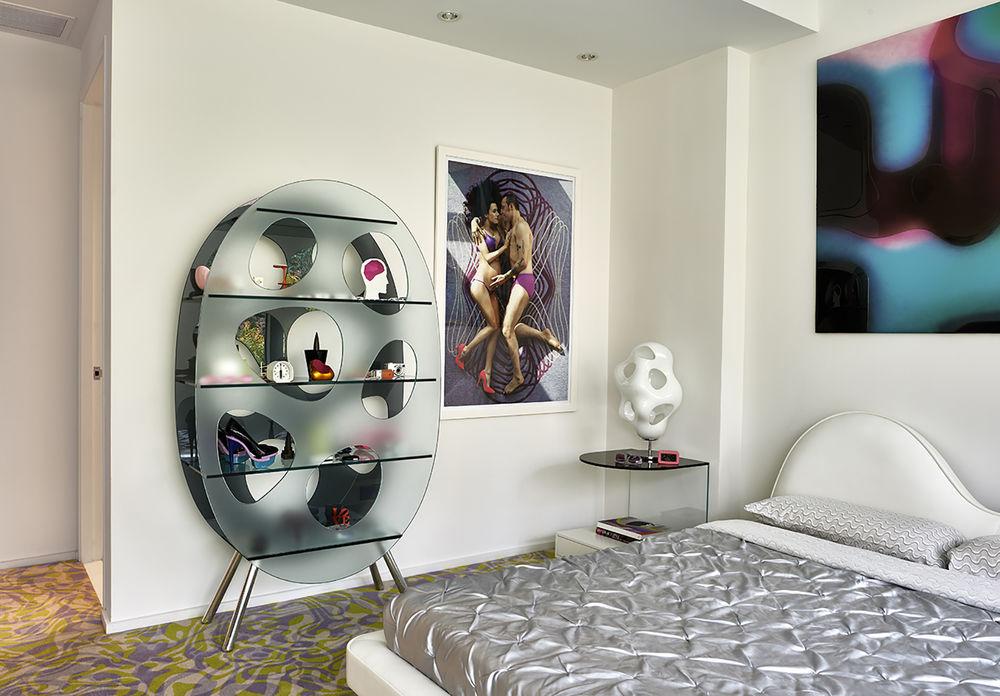 Дизайнер интерьеров Karim Rashid и его необычные работы, фото № 2