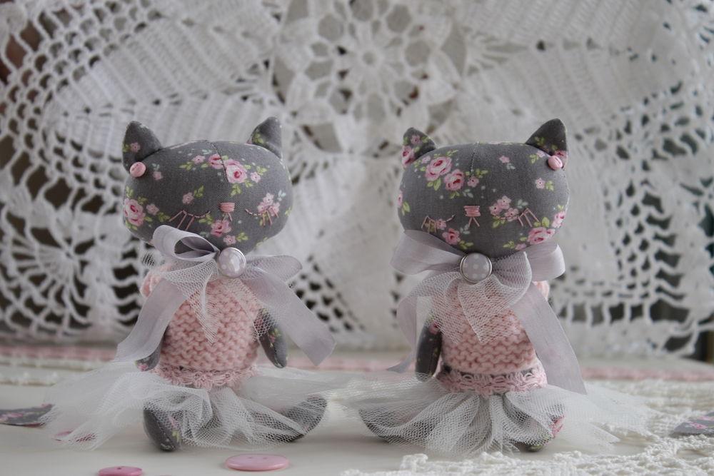 коты, кукла ручной работы