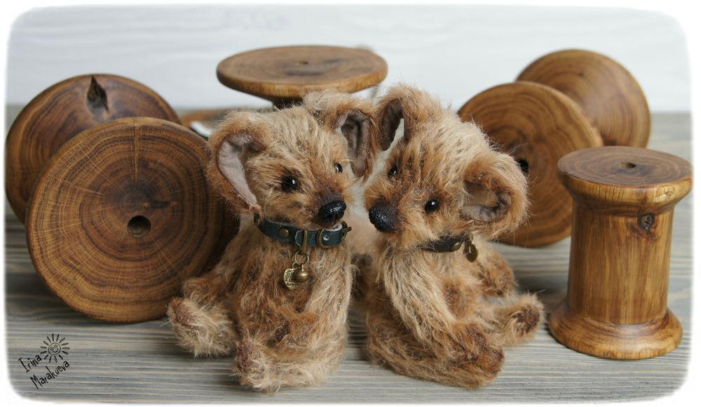 щенок, собаки, handmade