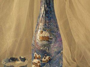 Мастер-класс Шампанское «А снег кружил и падал»   Ярмарка Мастеров - ручная работа, handmade
