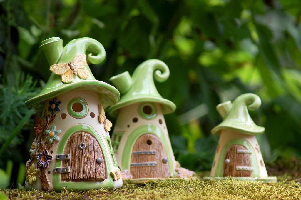 Домики для фей: волшебные керамические подсвечники Antje Rosemann, фото № 1