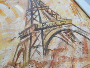 А вы были в Париже? Анонс аукциона на романтичную картину и немного лирики).... Ярмарка Мастеров - ручная работа, handmade.