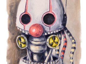 Творческий ежедневник. День 21. Этюд «Клоун». Ярмарка Мастеров - ручная работа, handmade.