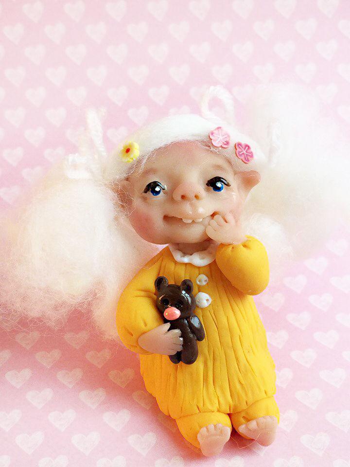 петушок, аукцион с 0, авторская кукла
