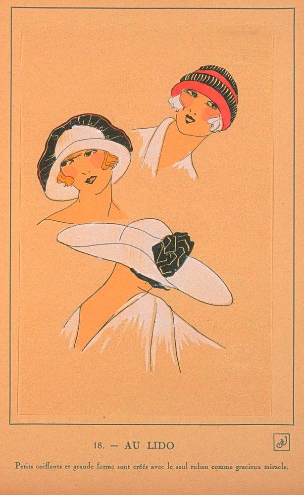Ах, какие шляпки! Шляпная мода 1922 года по версии французского журнала «Les chapeaux du Tres parisien». Часть 2, фото № 20