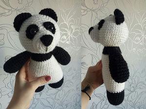 Новинка в магазине! Игрушка медвежонок панда. Ярмарка Мастеров - ручная работа, handmade.